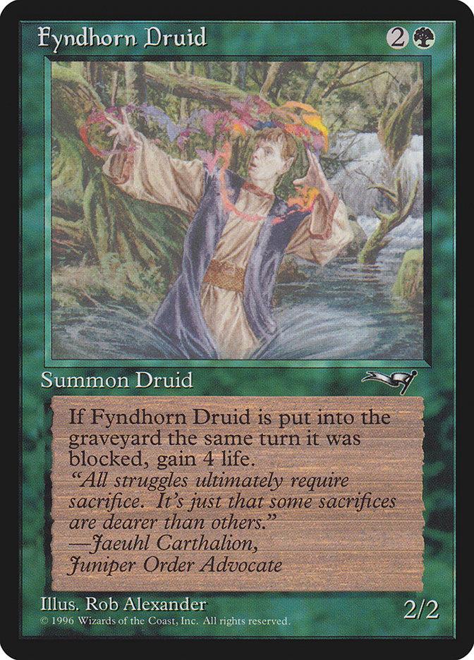 Fyndhorn Druid