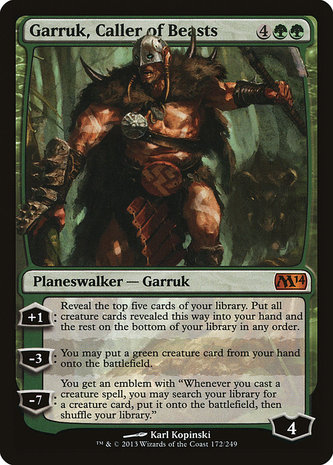 Garruk, Caller of Beasts