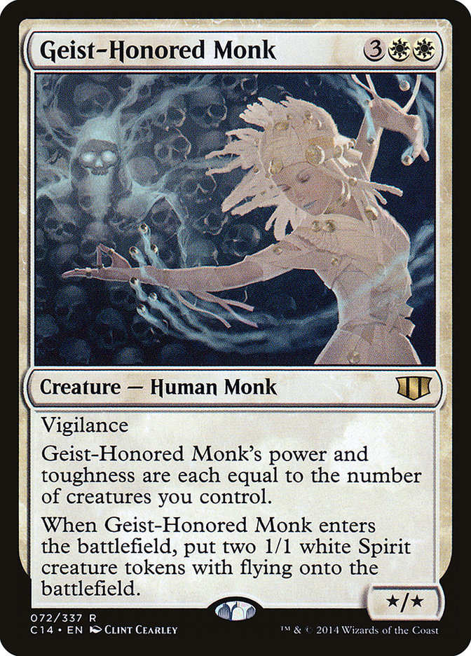 Geist-Honored Monk