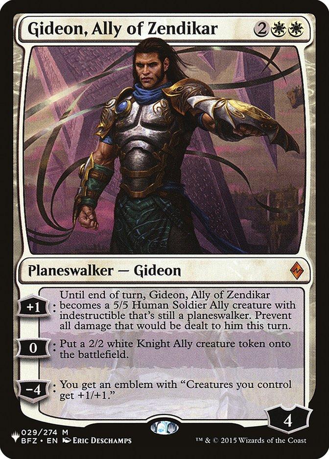 Gideon, Ally of Zendikar