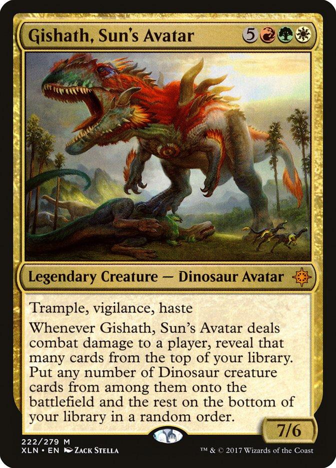 Gishath, Sun's Avatar