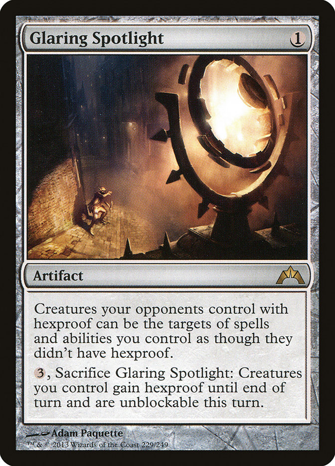 Glaring Spotlight