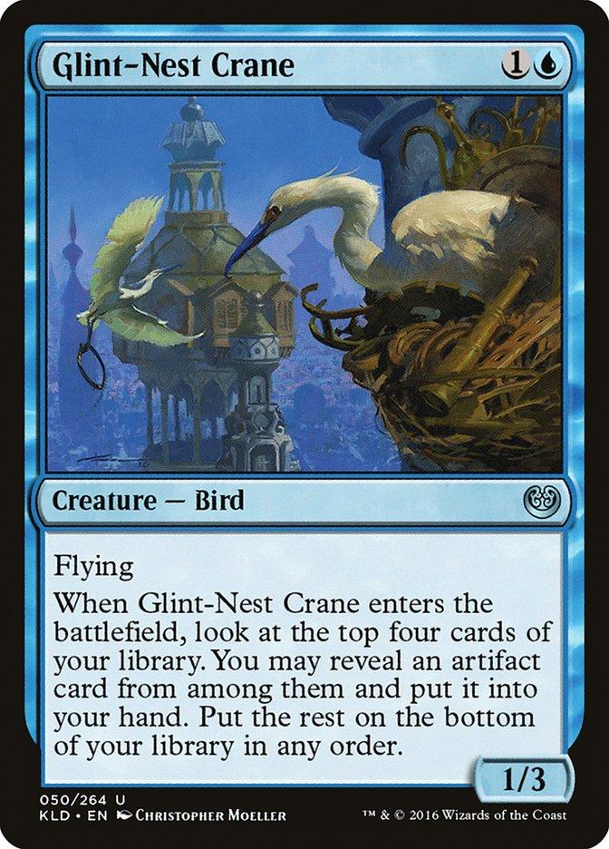 Glint-Nest Crane