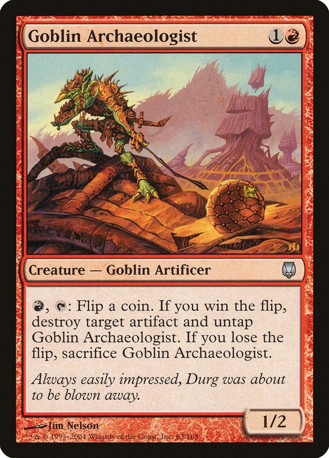 Goblin Archaeologist