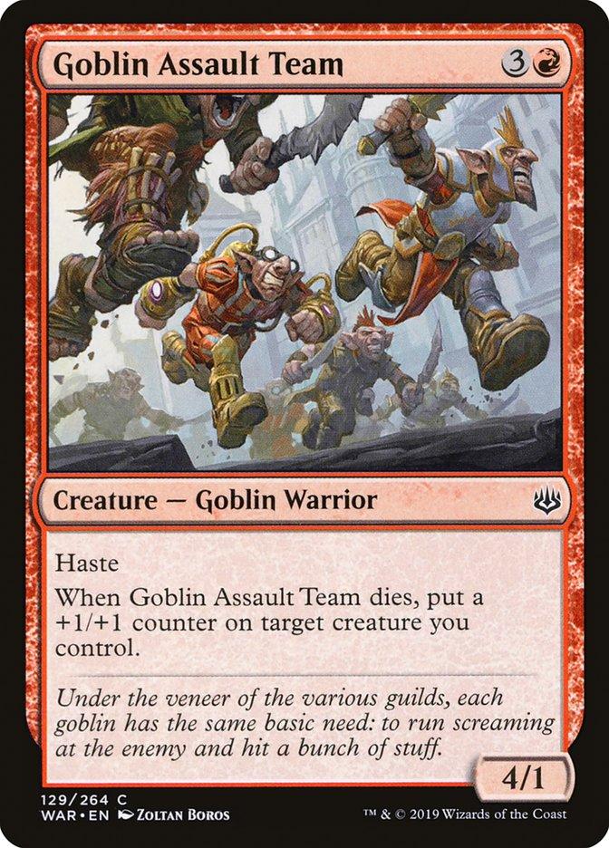 Goblin Assault Team