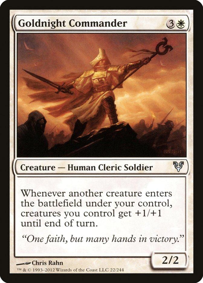 Goldnight Commander