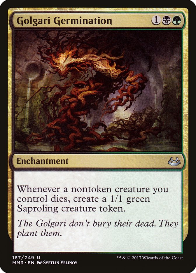 Golgari Germination