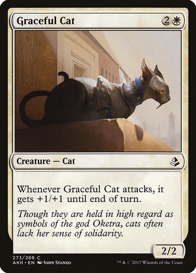 Graceful Cat