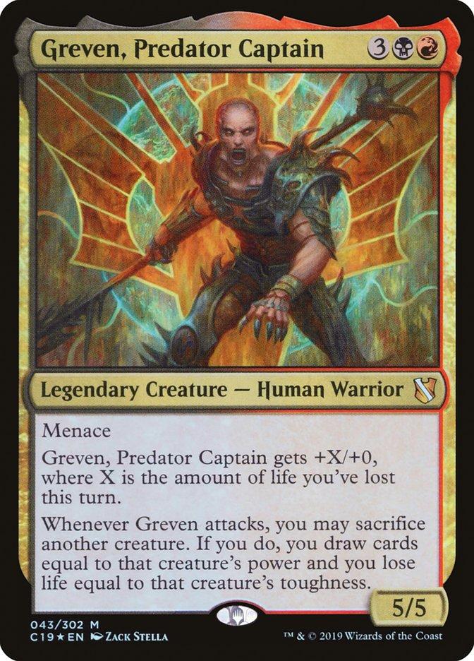 Greven, Predator Captain