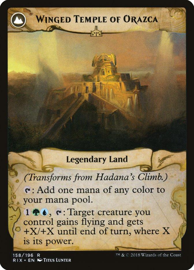 Hadana's Climb // Winged Temple of Orazca