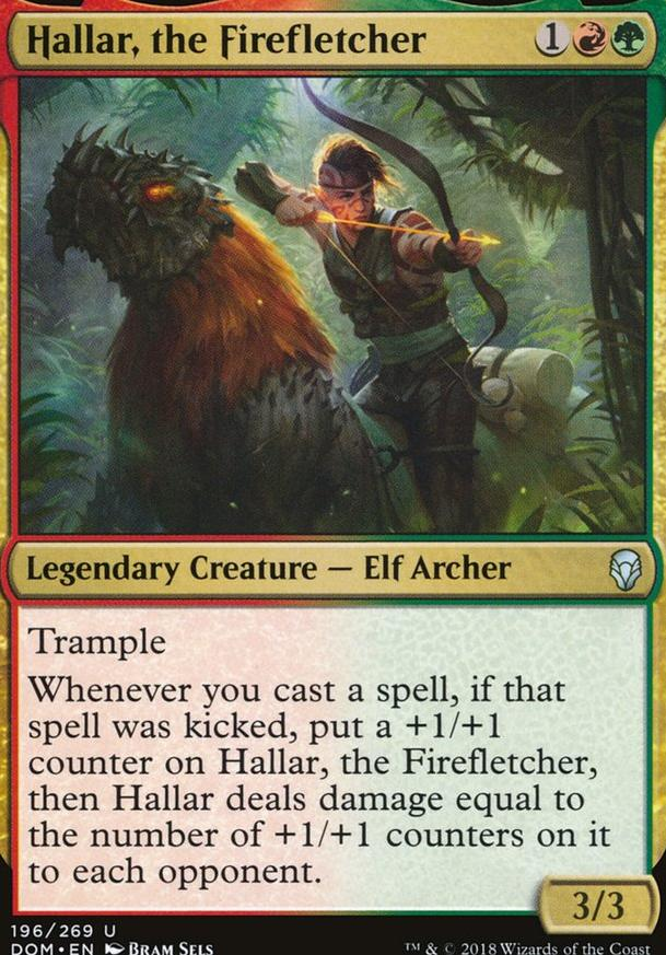 Hallar Elves Edh Commander Deckstatsnet Magic The