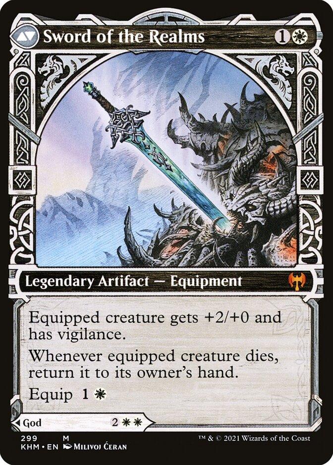 Halvar, God of Battle // Sword of the Realms
