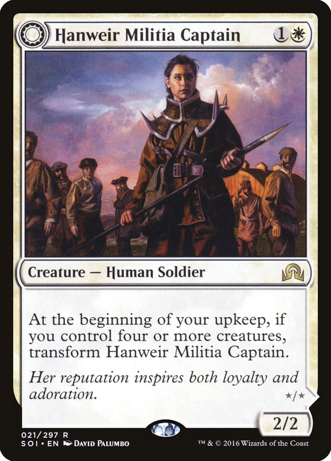 Hanweir Militia Captain // Westvale Cult Leader