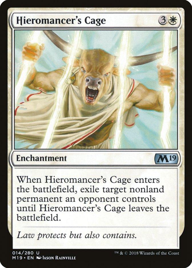 Hieromancer's Cage