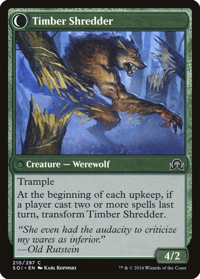 Hinterland Logger // Timber Shredder