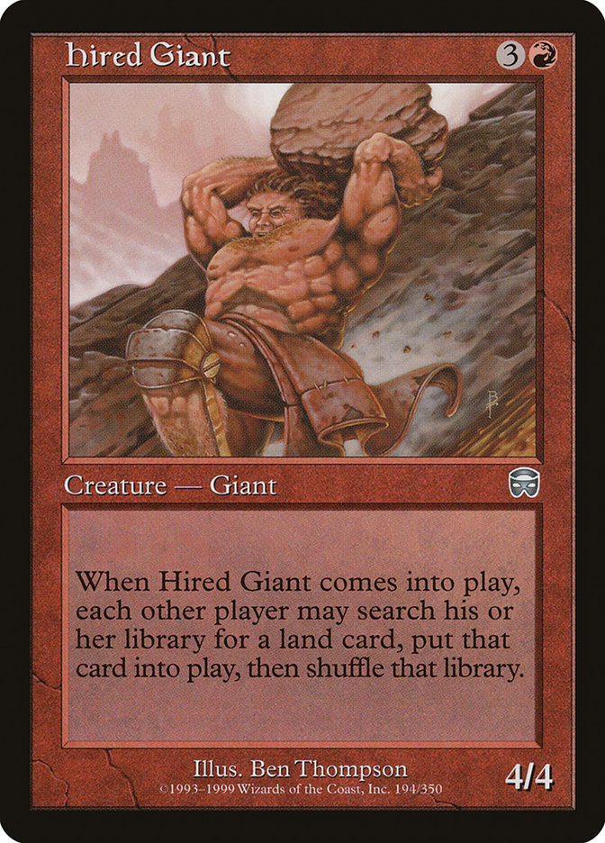 Hired Giant