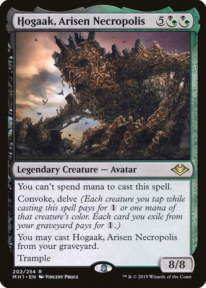 Hogaak commander  (EDH / Commander) — deckstats net | Magic