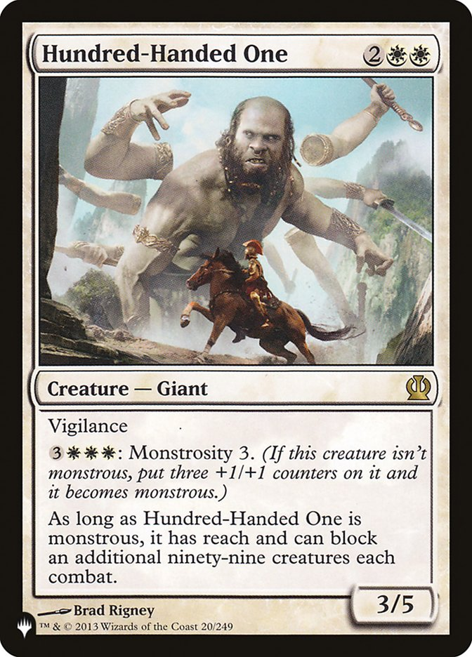 Hundred-Handed One
