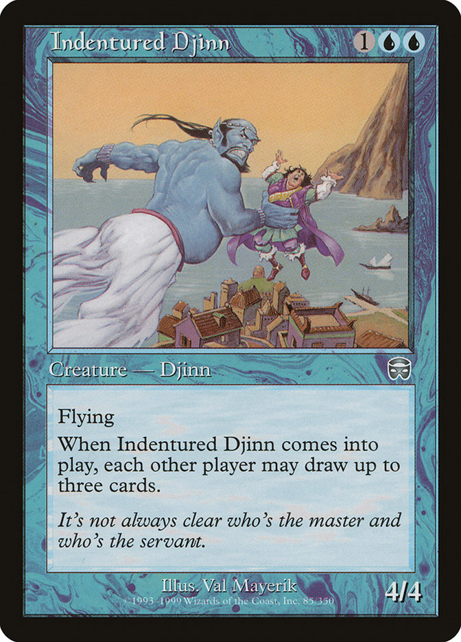 Indentured Djinn