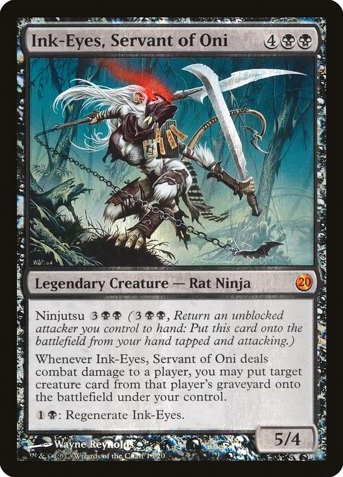 Ink-Eyes, Servant of Oni