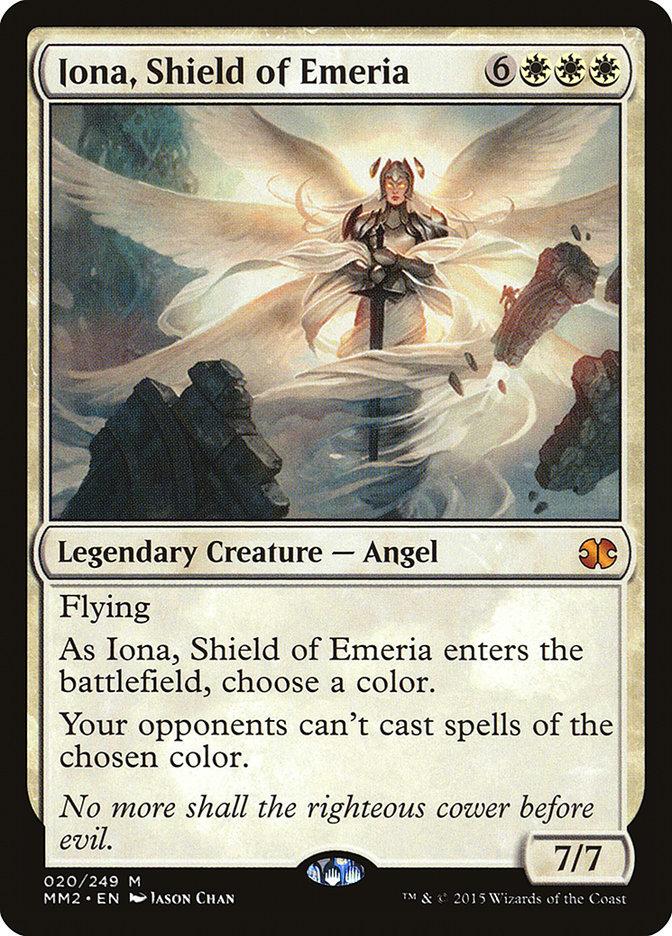 Iona, Shield of Emeria