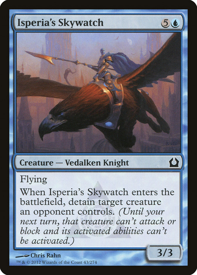 Isperia's Skywatch - Magic: The Gathering Card Info Planeswalker Activated Ability