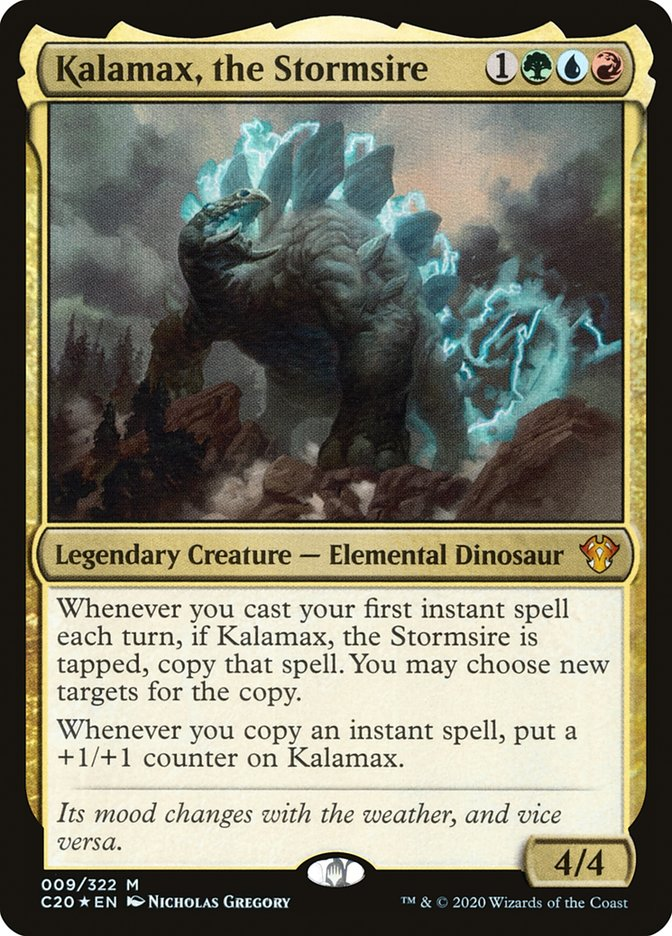 Kalamax, the Stormsire