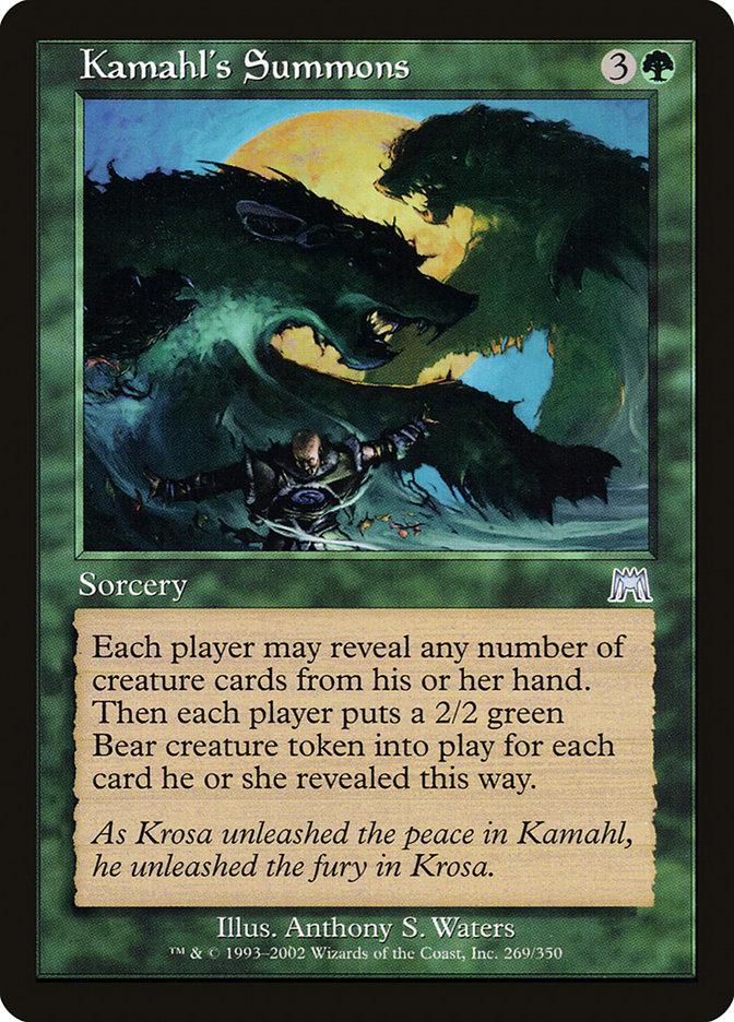 Kamahl's Summons