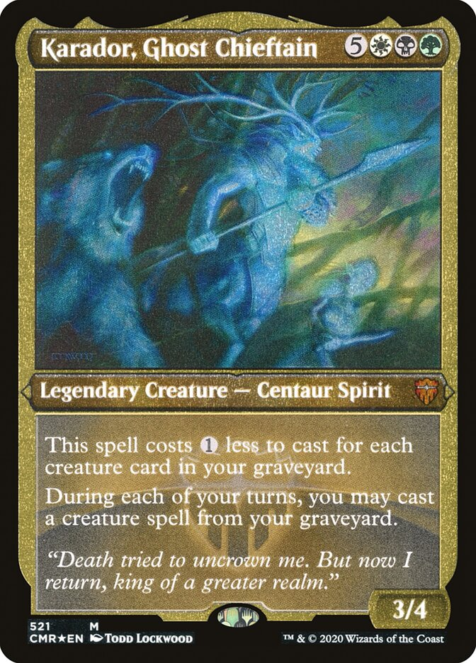 Karador, Ghost Chieftain