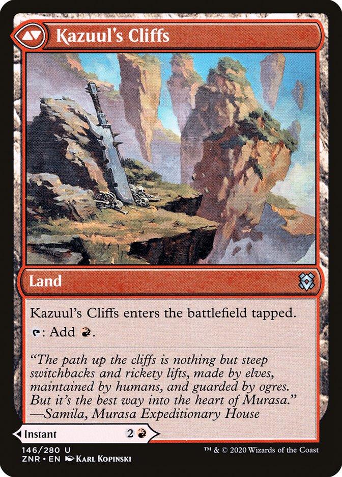 Kazuul's Fury // Kazuul's Cliffs