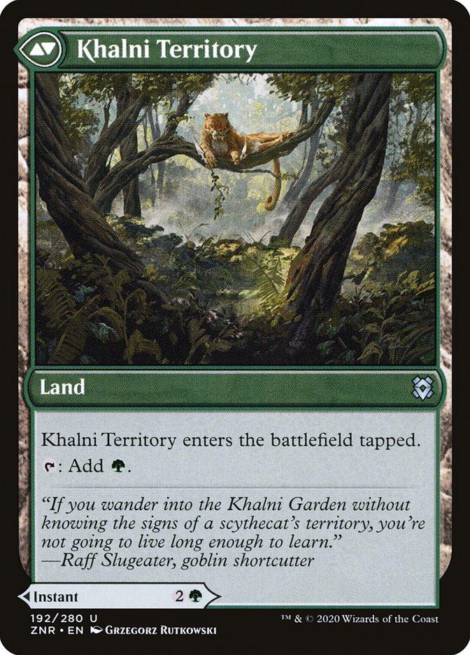 Khalni Ambush // Khalni Territory