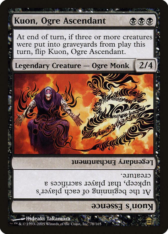 Kuon, Ogre Ascendant // Kuon's Essence