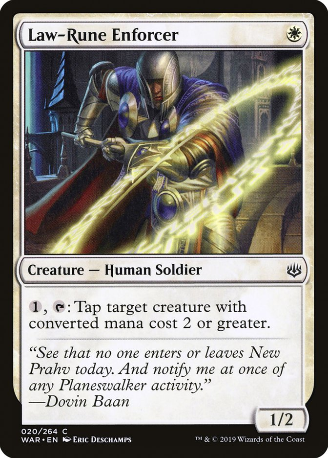 Law-Rune Enforcer