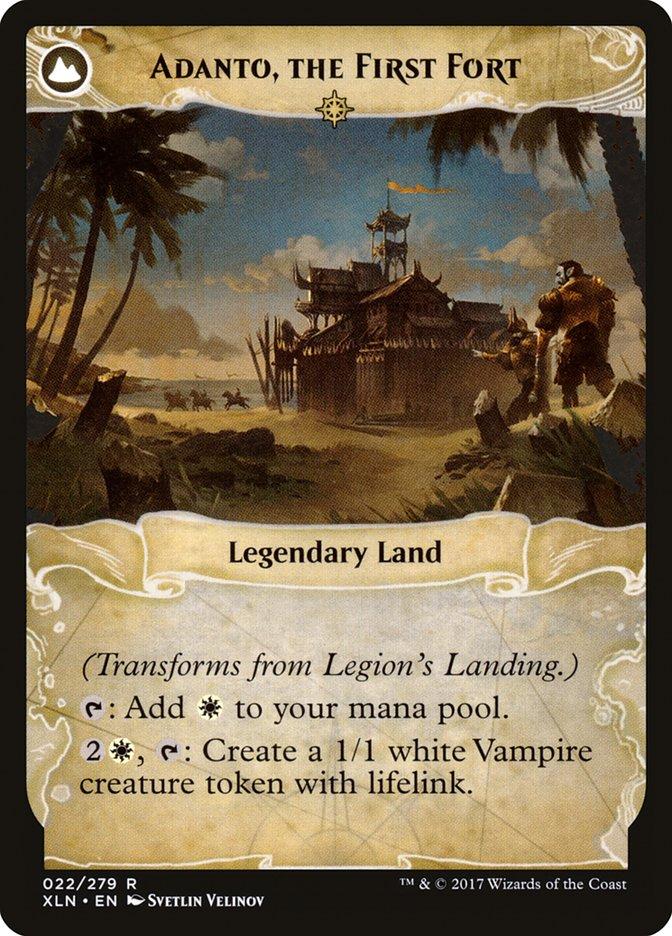 Legion's Landing // Adanto, the First Fort