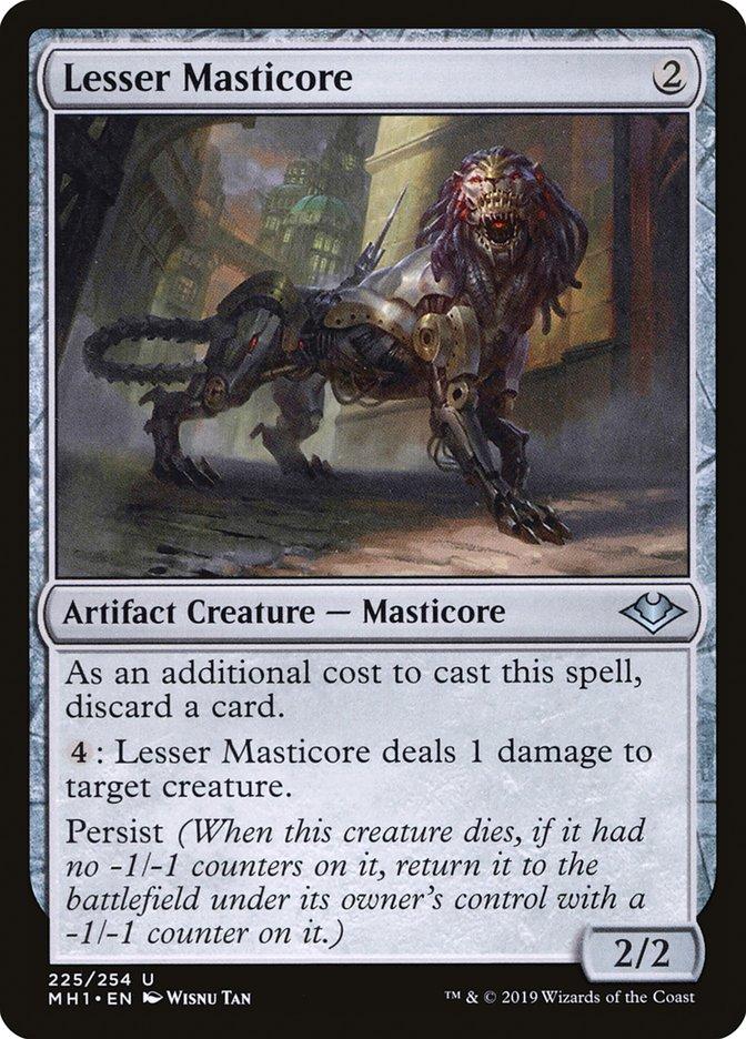 Lesser Masticore