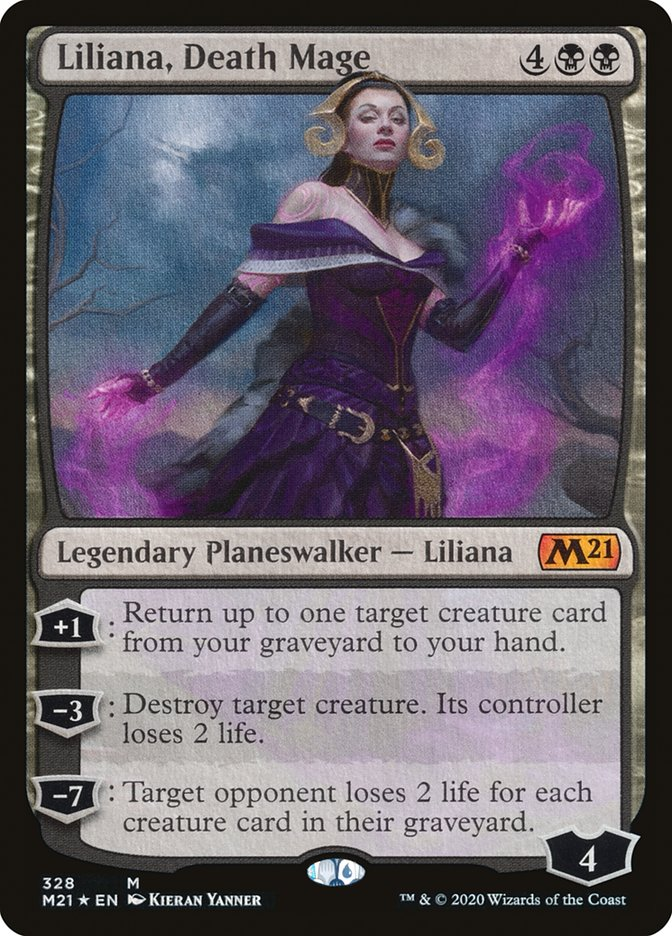 Liliana, Death Mage