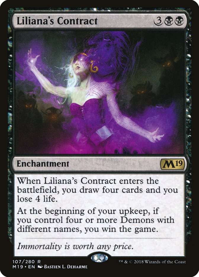 Liliana's Contract