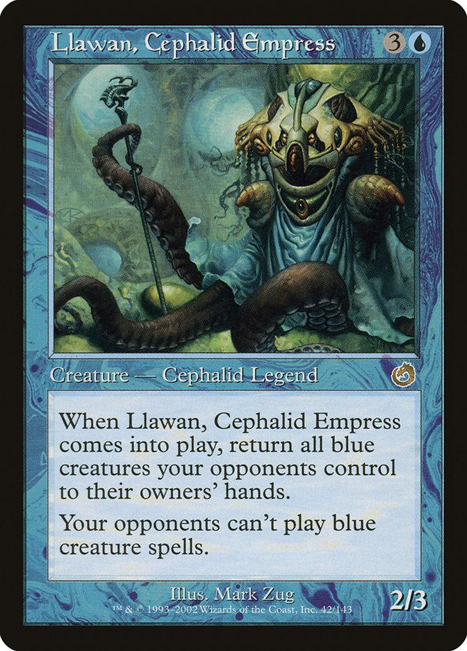 Llawan, Cephalid Empress