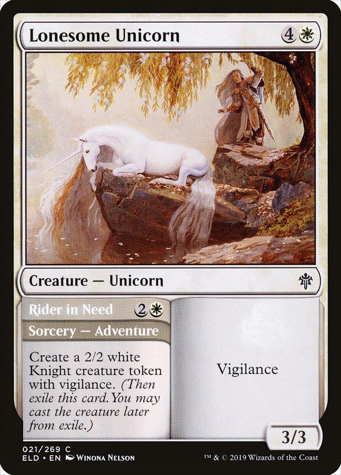 Lonesome Unicorn // Rider in Need