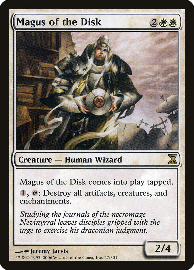 Magus of the Disk