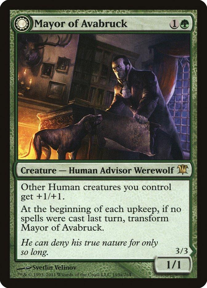 Mayor of Avabruck // Howlpack Alpha