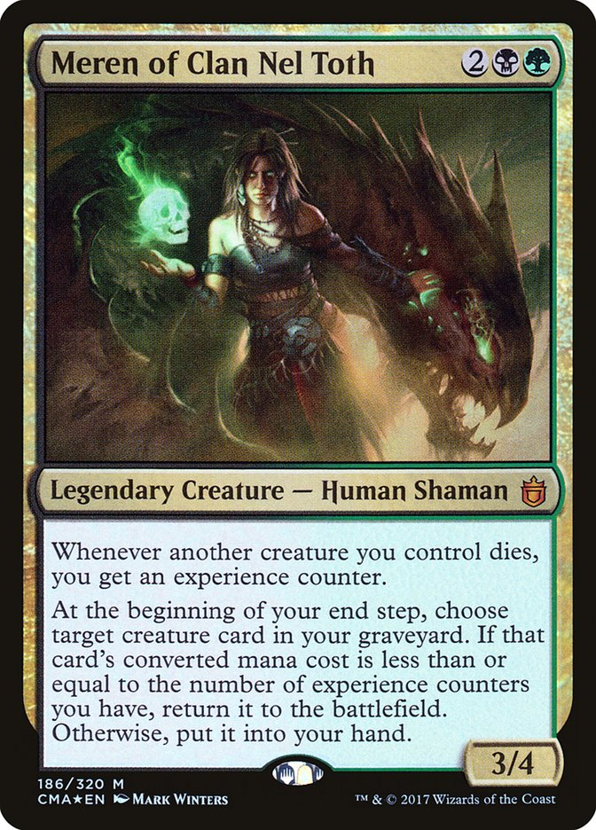 Meren but without ridiculously priced land (EDH / Commander