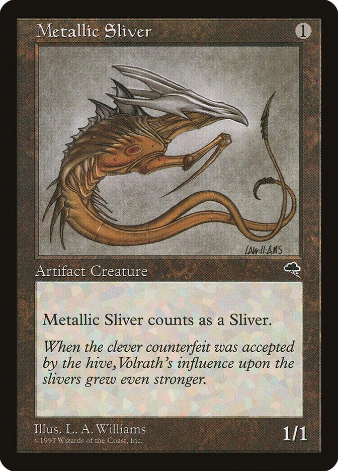 Metallic Sliver
