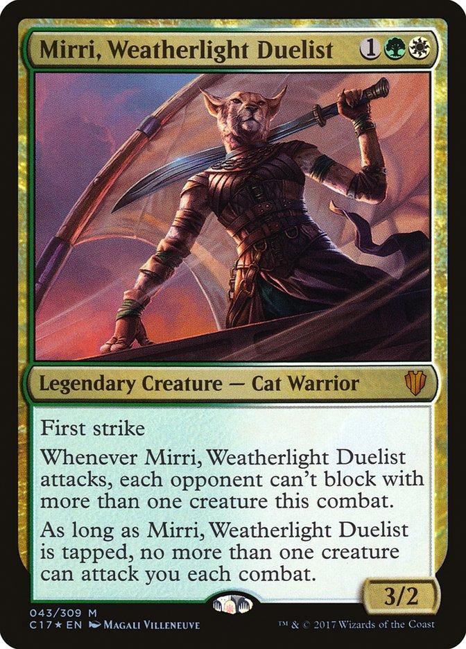 Mirri, Selesnya aggro EDH (EDH / Commander) — deckstats net