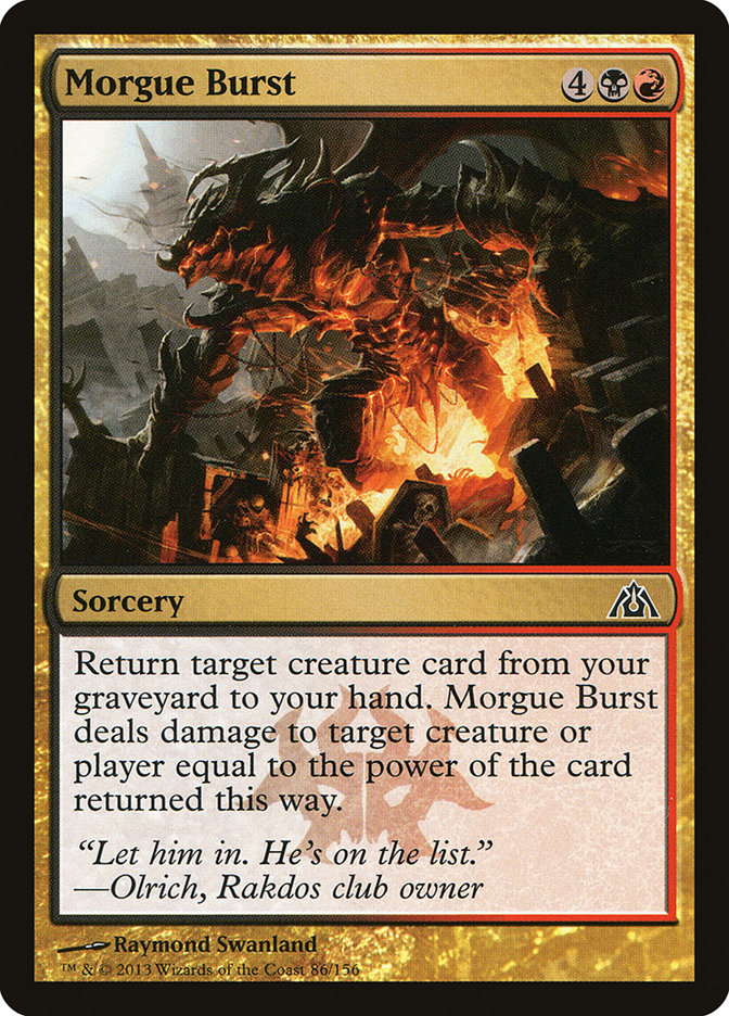 Morgue Burst