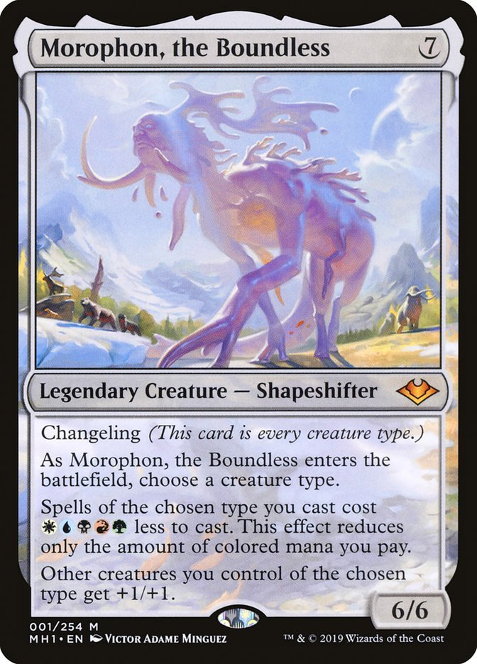 Morophon, the Boundless