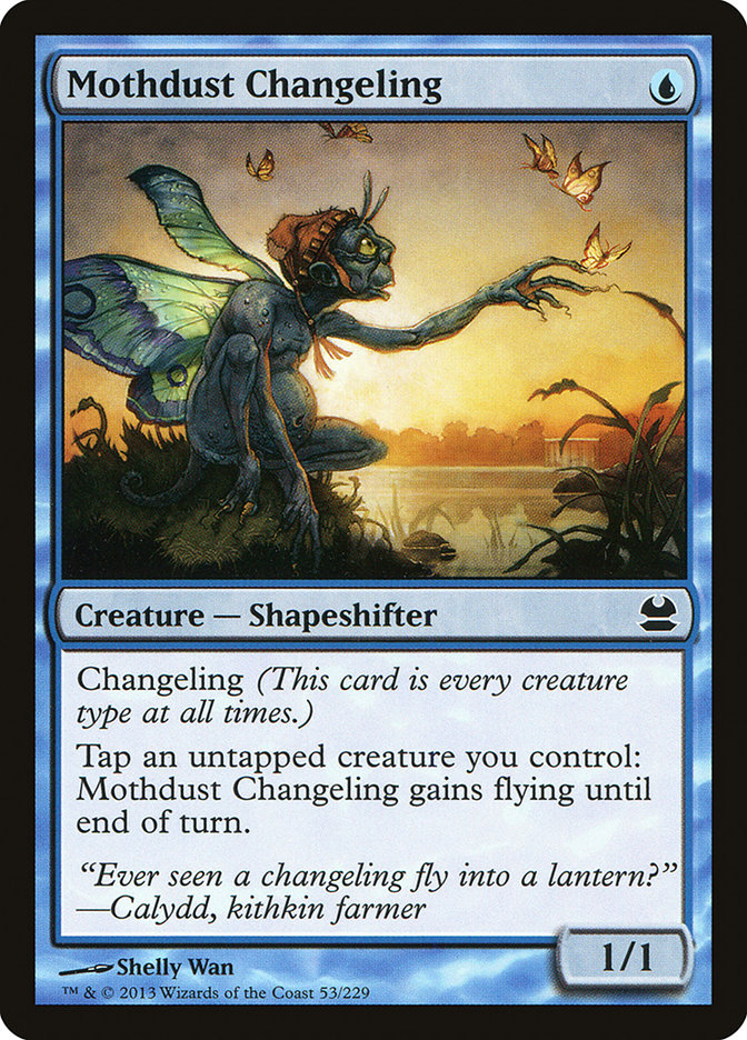 Mothdust Changeling