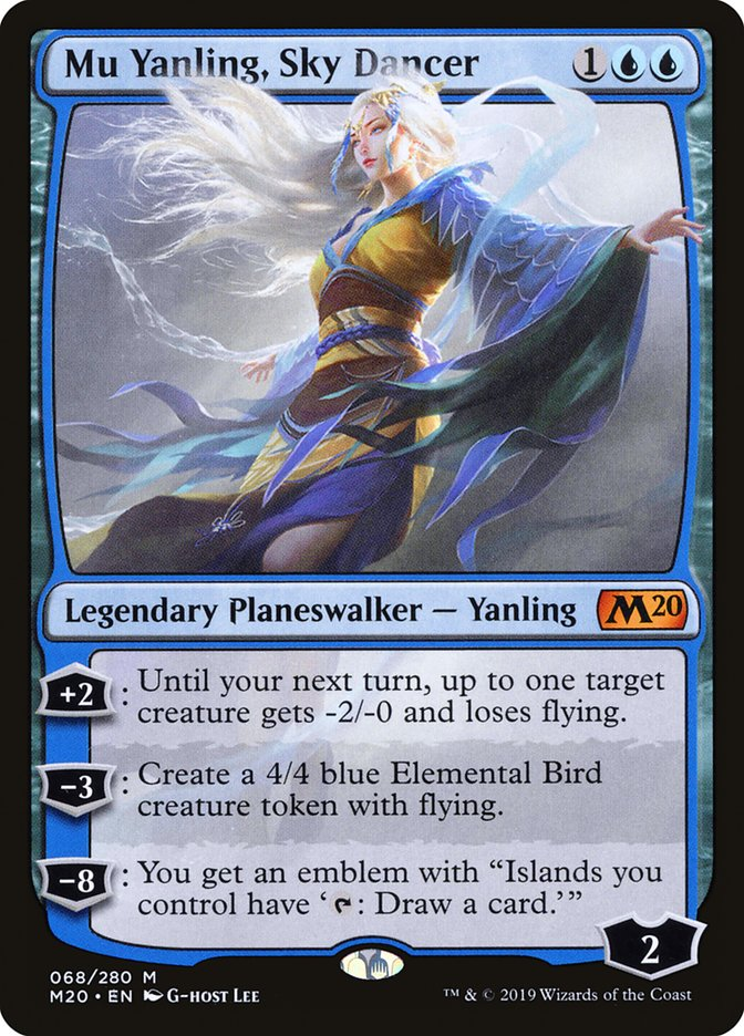 Sky 2 Karte.Mu Yanling Sky Dancer Infos Zur Magic The Gathering Karte