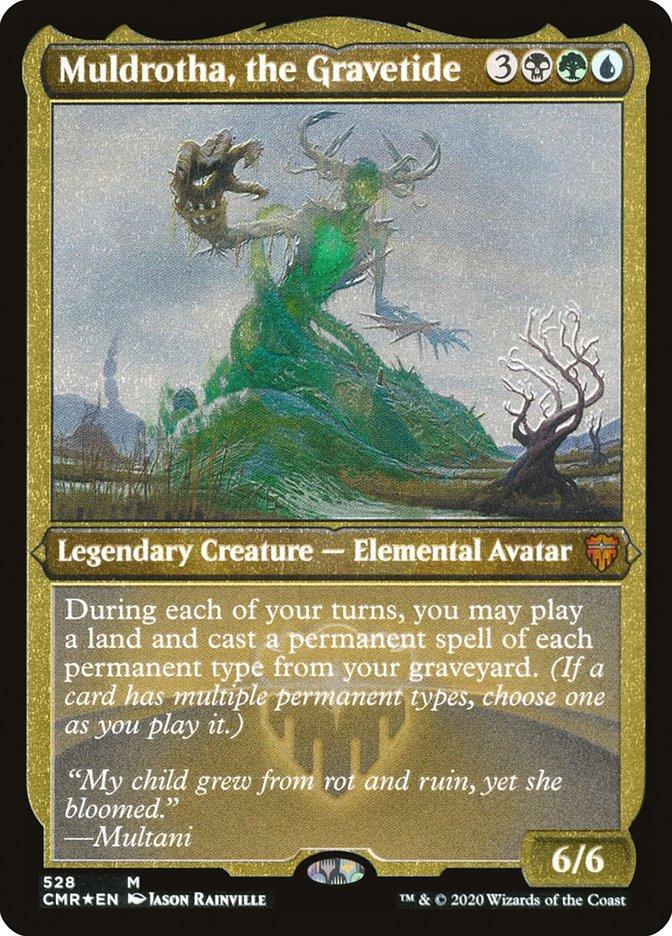 Mtg Magic Cards Commander Deck Muldrotha Sultai Graveyard