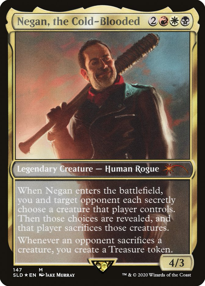 Negan The Cold Blooded Edh Commander Deckstats Net Magic The Gathering Decks At deckstats.net we use cookies to remember information between visits and customize our website for you. negan the cold blooded edh